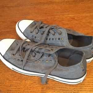 Gray Converse Shoes